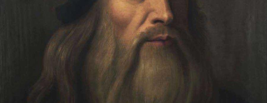 Leonardo Da Vinci, el rostro de un genio