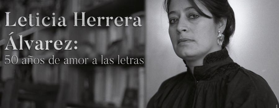 Leticia Herrera Álvarez: 50 años de amor a las letras