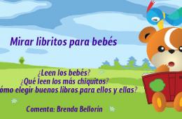 Mirar libritos para bebés