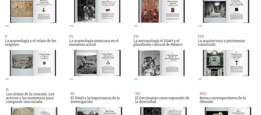 Libro conmemorativo 80 años del Instituto Nacional de Antropología e Historia