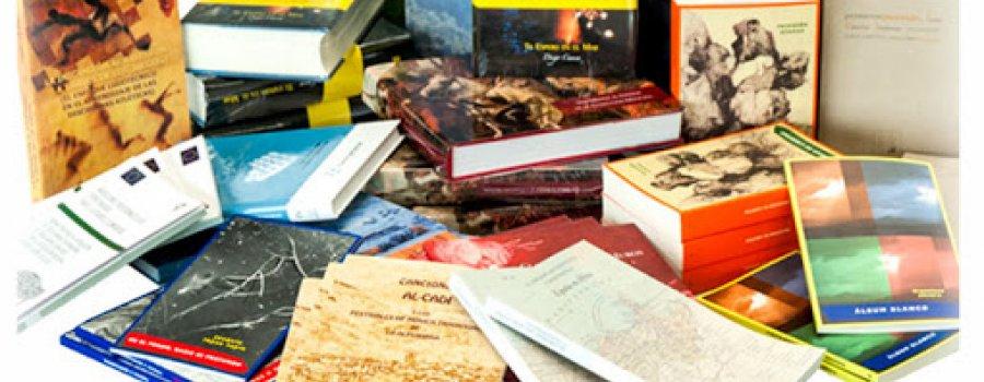 Promoción de nuevos títulos y exposiciones de libros y revistas.