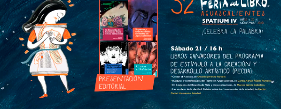 Libros ganadores del programa PECDA