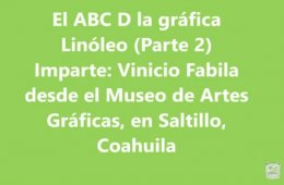 El ABC D la gráfica. Linóleo Parte II