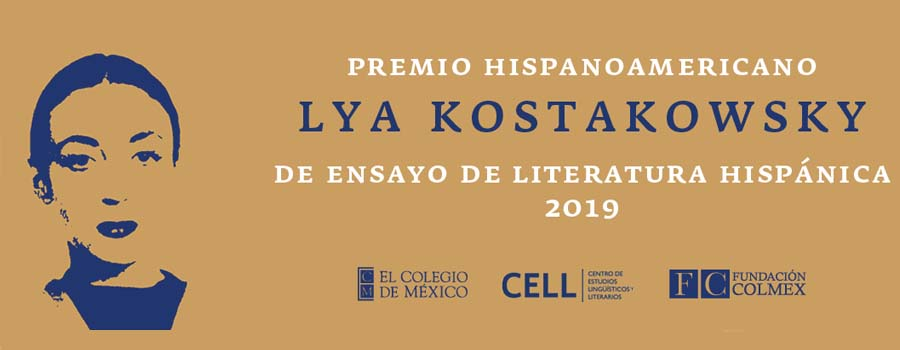 Premio de Ensayo de Literatura Hispánica 2019