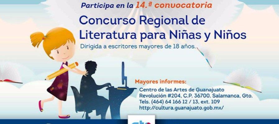 14 Concurso Regional de Literatura para niñas y niños