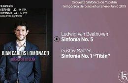 Juan Carlos Lomónaco con la Orquesta Sinfónica de Yucat...