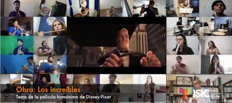 La Banda Sinfónica Juvenil del Estado interpreta la obra: Los Increíbles