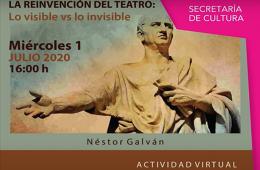 La reinvención del teatro: lo visible vs lo invisible