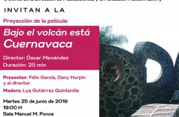 Bajo el volcán está Cuernavaca