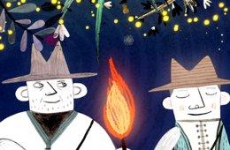 Las luciérnagas que embellecen los árboles