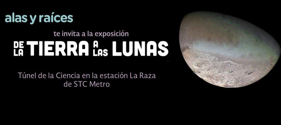 De la Tierra a las lunas