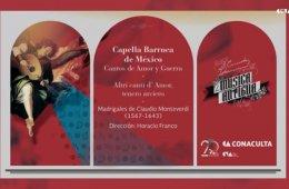 Conciertos guiados. Madrigales de Claudio Monteverdi