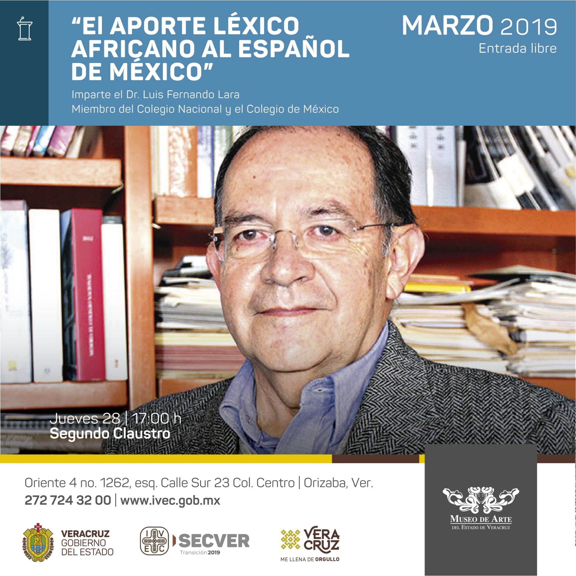 El aporte léxico africano al español de México