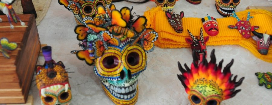 Feria artesanal y gastronómica. Magia artesanal de Puebla