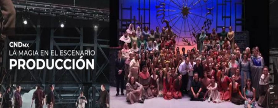 La magia en el escenario, cápsulas sobre producción escénica