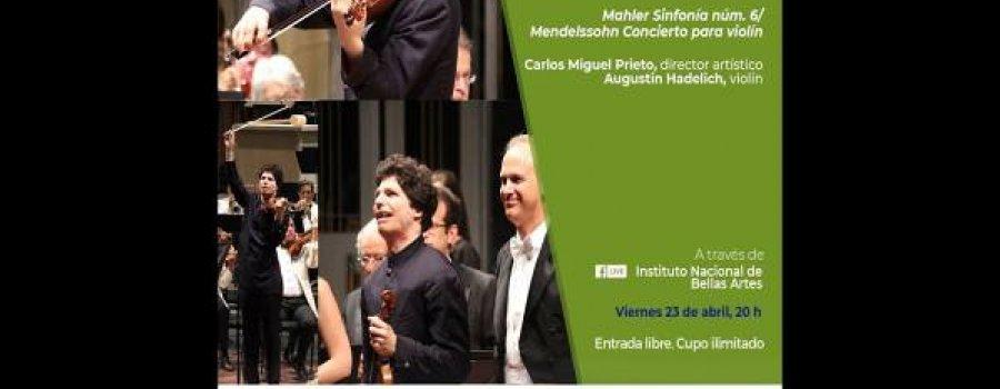 Mahler Sinfonía núm 6, Mendelssohn Concierto para violín / Orquesta Sinfónica Nacional / INBAL