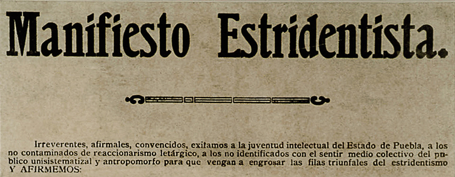 Déjenlo todo nuevamente. Primer manifiesto infrarrealista (1986), Roberto Bolaño