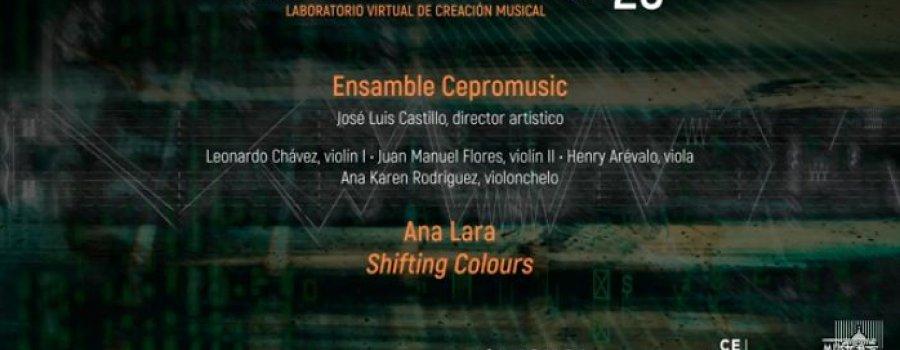 Shifting Colours con Ana Lara