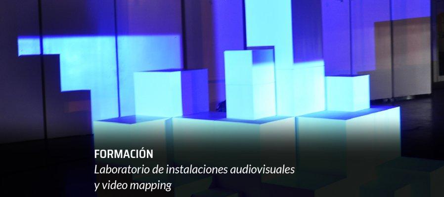 Laboratorio de instalaciones audiovisuales y video mapping
