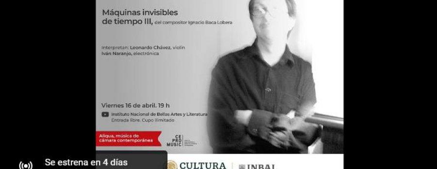 CEPROMUSIC. Máquinas invisibles de tiempo III de Ignacio Baca Lobera