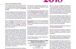 CONVOCATORIA: XX PREMIO ESTATAL MARIA LUISA OCAMPO