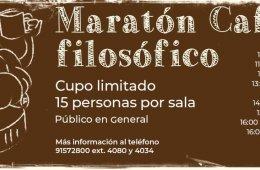 Maratón Café filosófico
