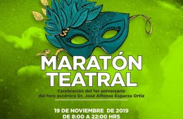 Maratón teatral