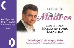 Concierto del tenor Marco Antonio Labastida