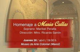 Homenaje a María Callas