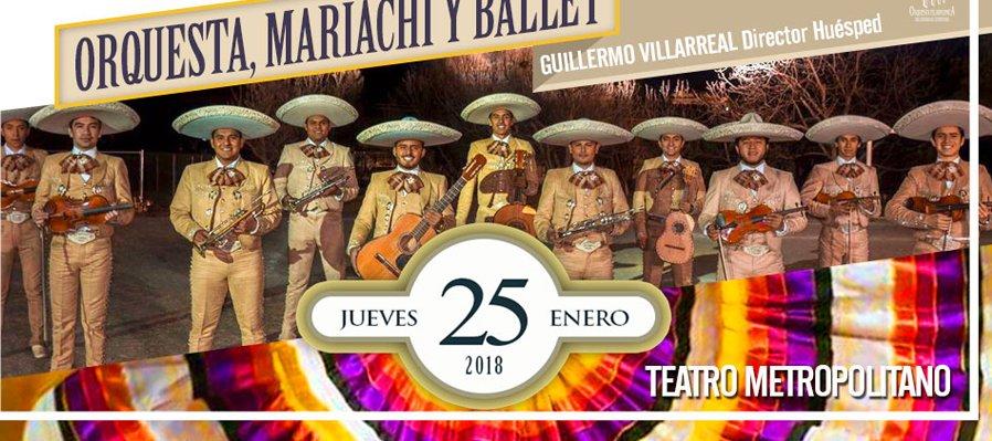 Orquesta, Mariachi y Ballet
