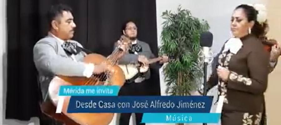 Desde Casa con José Alfredo Jiménez.
