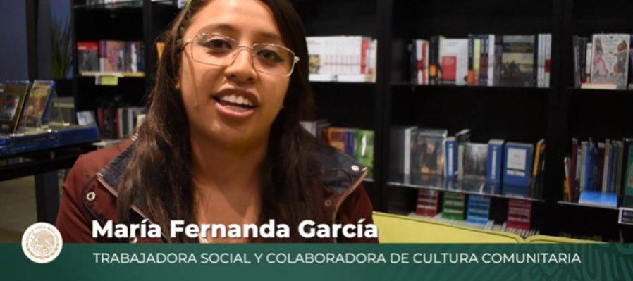 María Fernanda García, trabajadora Social