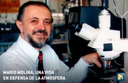 Mario Molina. Una vida en defensa de la atmósfera