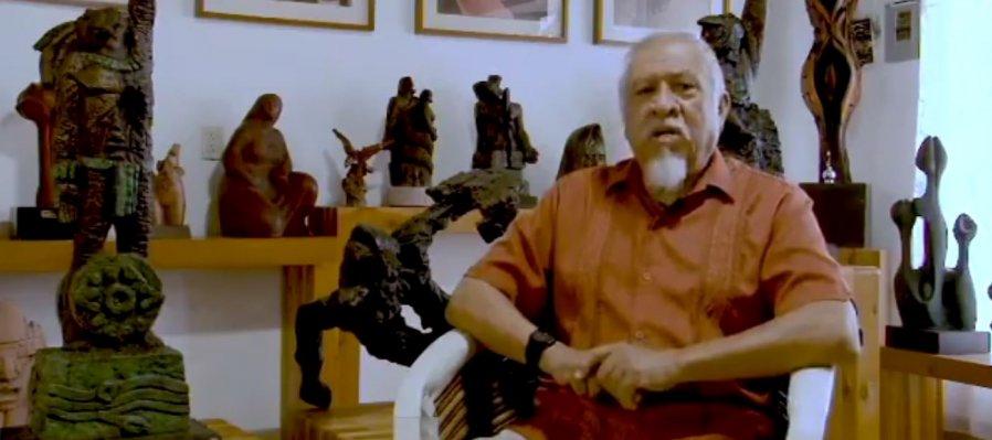 Homenaje al escultor Mario Rendón