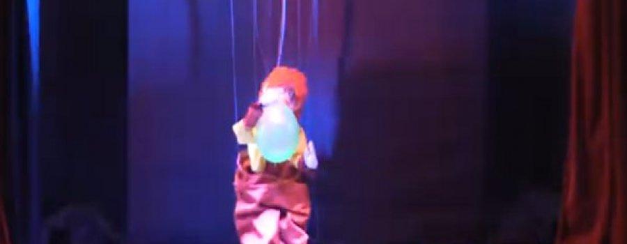Cuerpos, voces, letras: acción. El circo de la marioneta