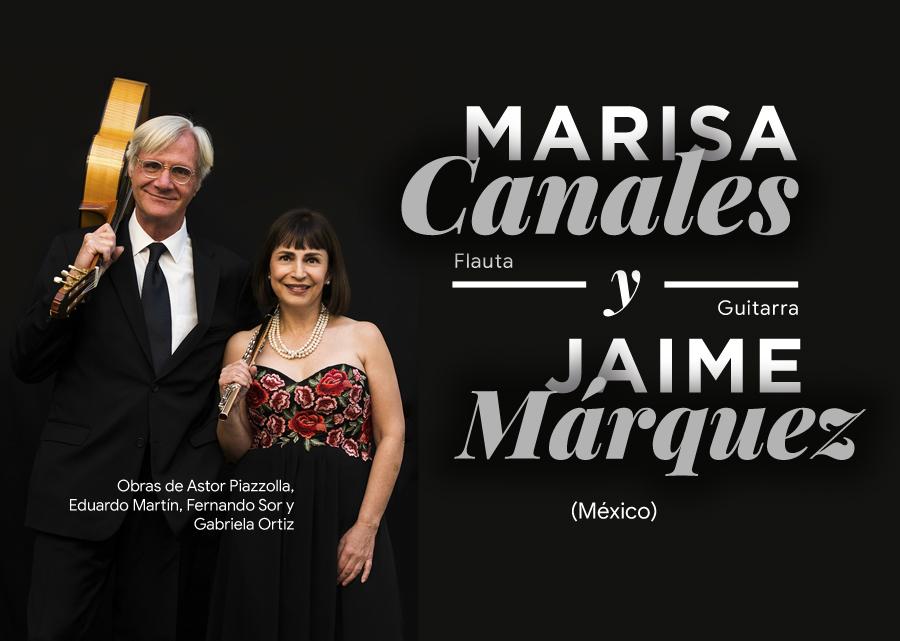 Marisa Canales y Jaime Márquez