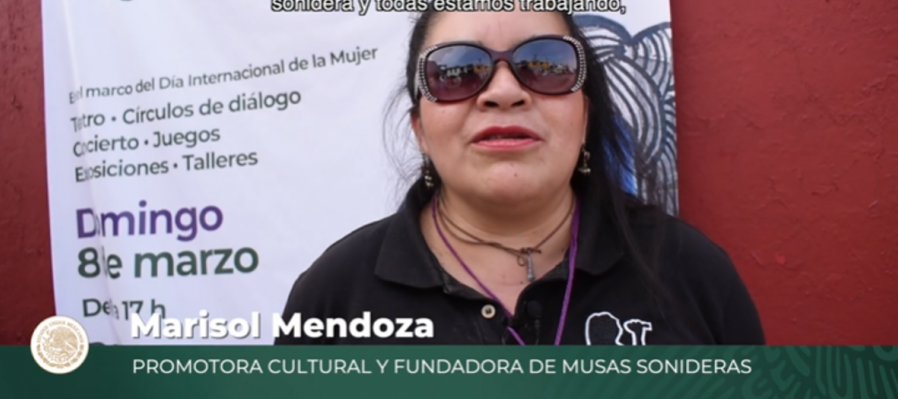 Marisol Mendoza, fundadora de Musas Sonideras