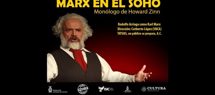 Monólogo teatral: Marx en el Soho de Howard Zinn