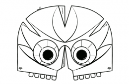 Mascara del Dios de Maíz, tercera sesión