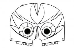 Mascara del Dios de Maíz, primera sesión