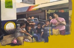 Exposición de pintura: Tardeadas. Galería 7