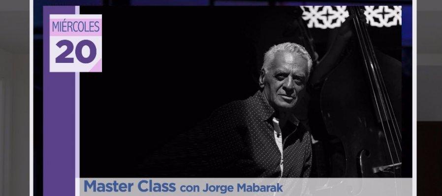 Master Class con Jorge Mabarak