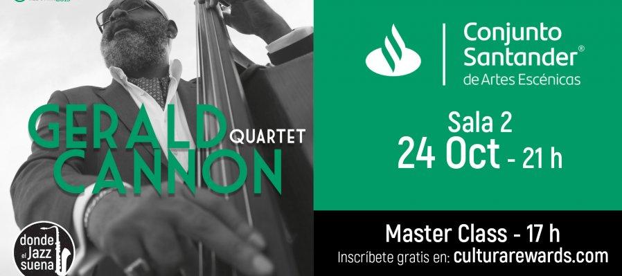 Master class con Gerald Cannon