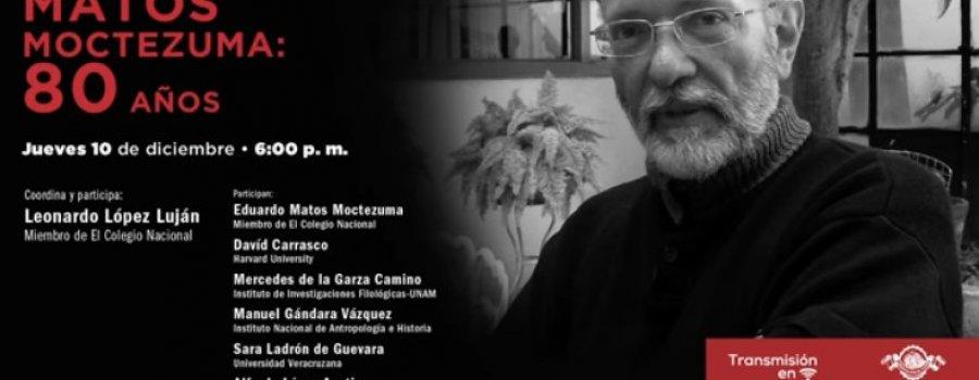 Eduardo Matos Moctezuma: 80 años