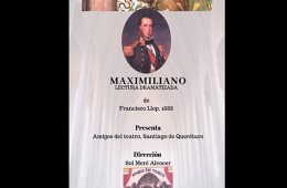 Maximiliano, lectura dramatizada