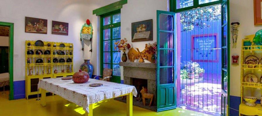 Recorrido virtual por La Casa Azul