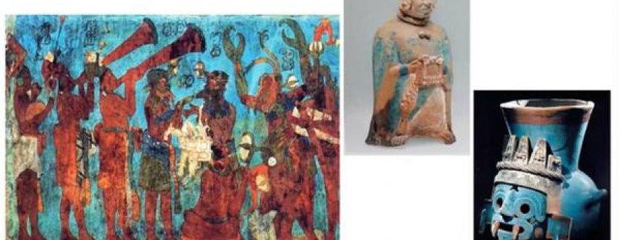 El rescate del azul maya
