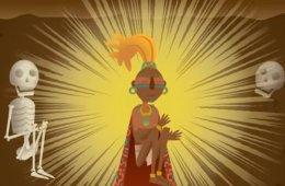 Los Mayas. Dibujos animados
