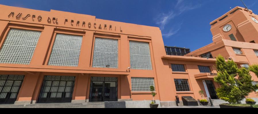 Descubre el Museo del Ferrocarril Jesús García Corona en este paseo virtual
