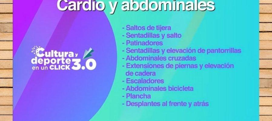 Cardio y abdominales